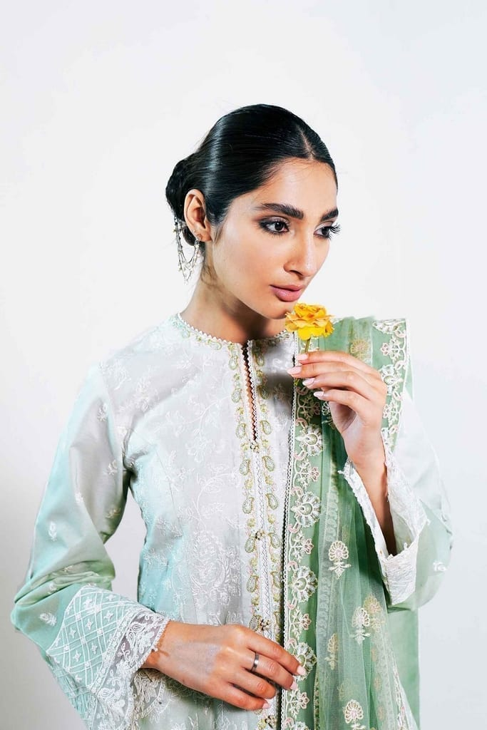 ZARA SHAHJAHAN | Embroidered Lawn Suits | RANO-A