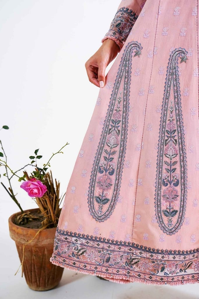 ZARA SHAJAHAN | Embroidered Lawn Suits | ZS21L 09 Sassi-A