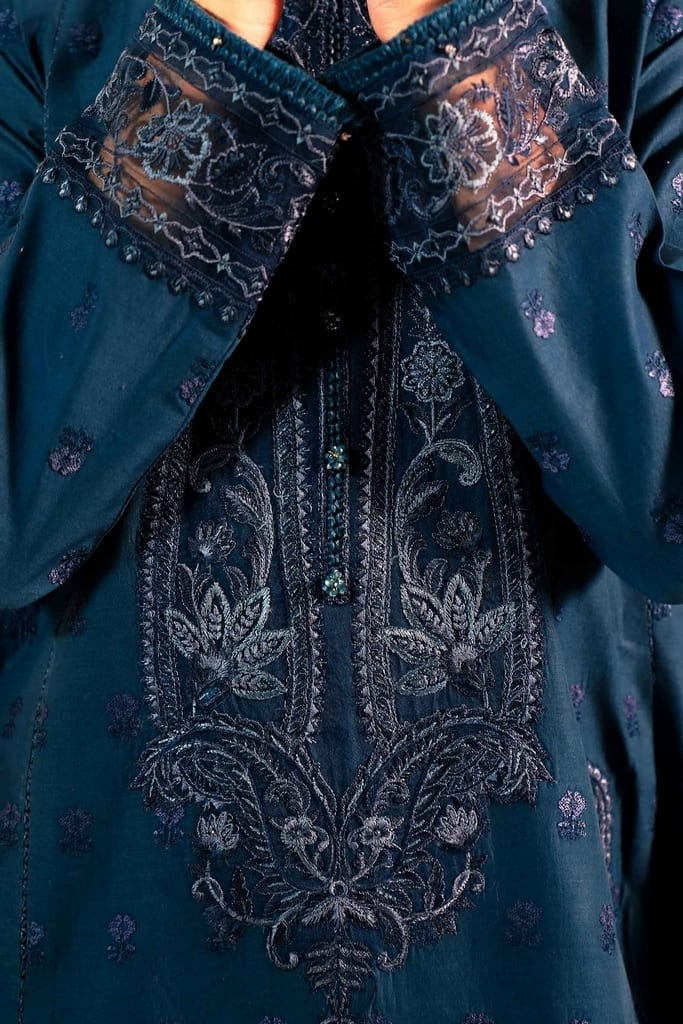 ZARA SHAHJAHAN | Embroidered Lawn Suits | SASSI-B