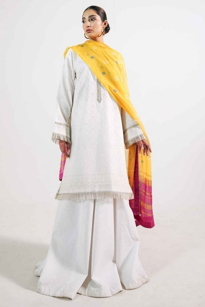 ZARA SHAJAHAN | Embroidered Lawn Suits | ZS21L 03-Sohni-B