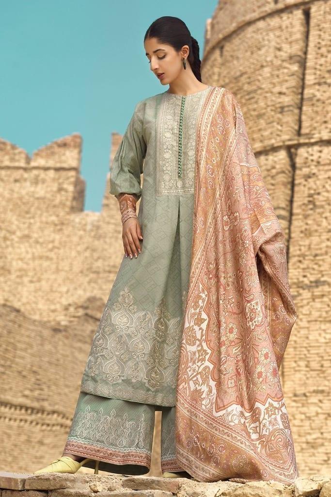 TENA DURRANI | Embroidered Lawn Suits | Tapioca