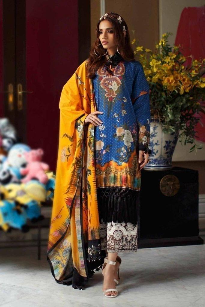 SANA SAFINAZ | MAHAY LAWN Collection | 5A