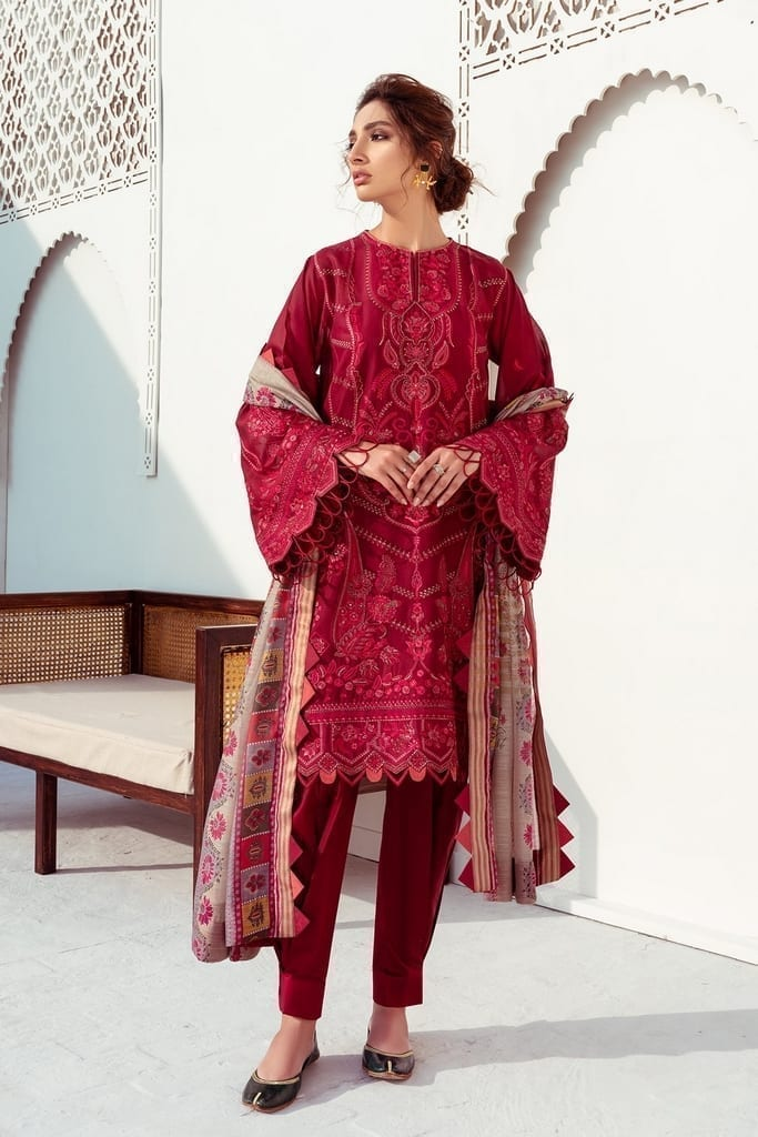 BAROQUE | SWISS LAWN'21 Collection | CARNELIAN