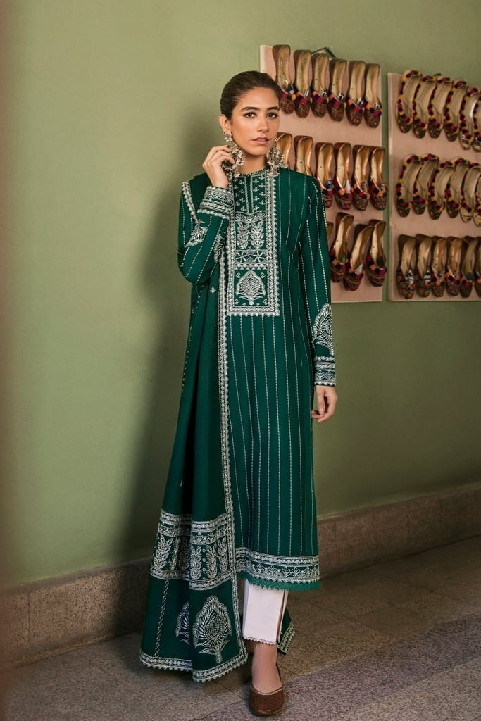 ZAHA LAWN | Embroidered Lawn Suits | ZEH (ZL21-08 A)