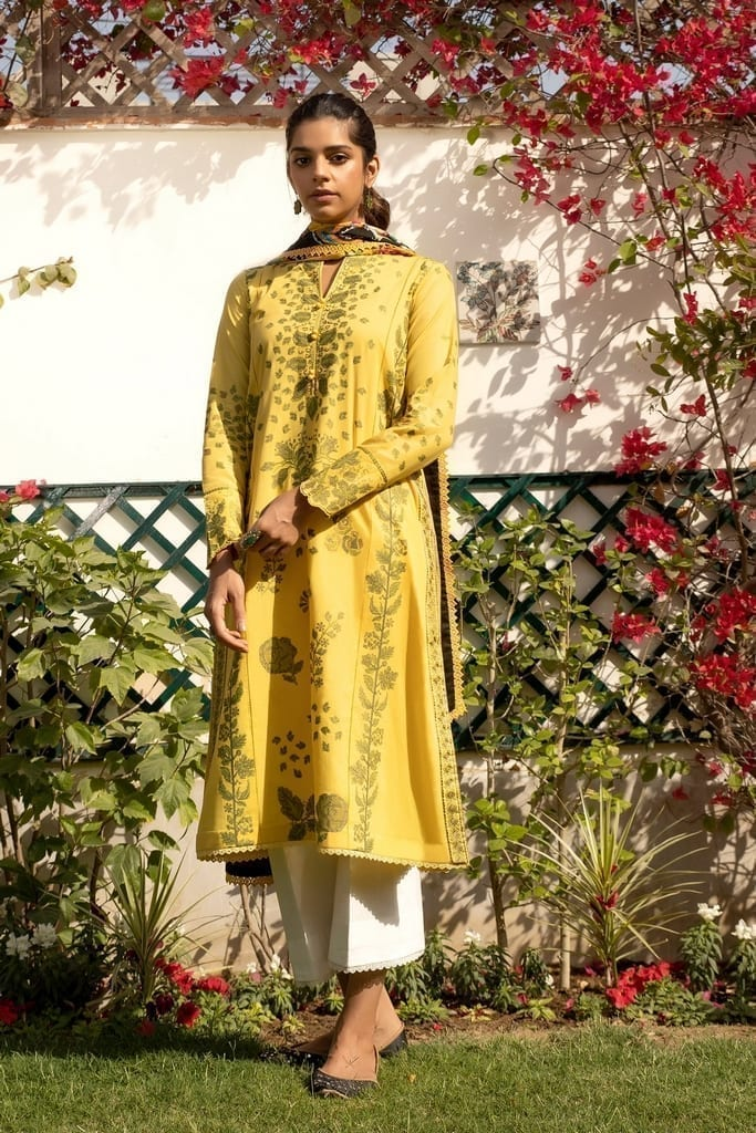 ZAHA LAWN | Embroidered Lawn Suits | LUKHAN (ZL21-12 B)