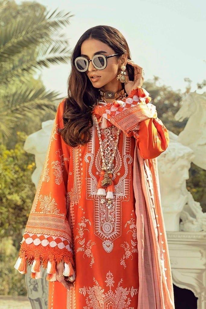 SANA SAFINAZ | MUZLIN SPRING'21 Collection | M211-012B-CI