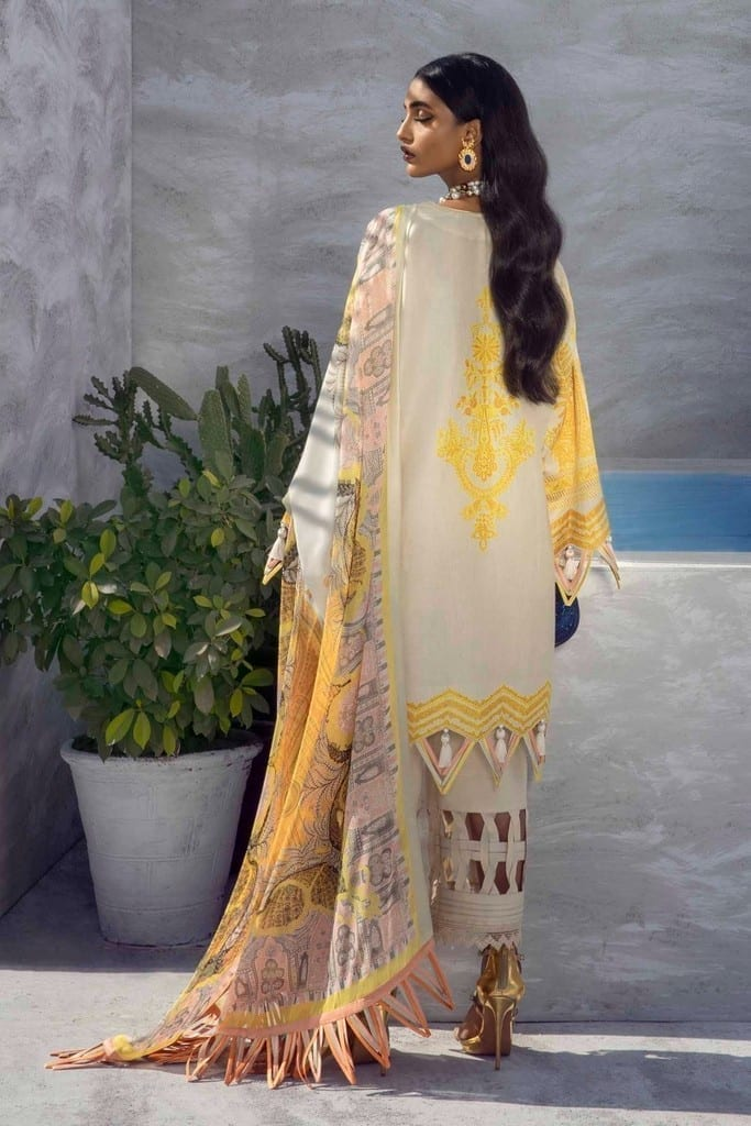 SANA SAFINAZ | MUZLIN SPRING'21 Collection | M211-015B-CL