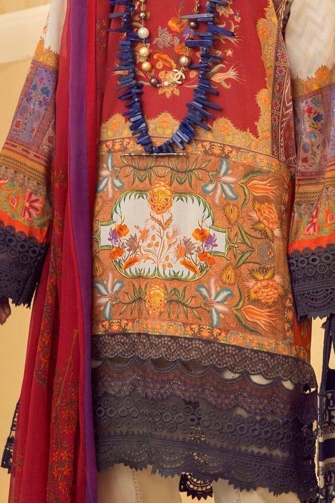 SANA SAFINAZ | MUZLIN SPRING'21 Collection | M211-018A-BI
