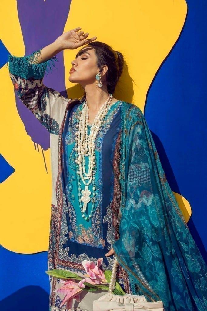 SANA SAFINAZ | MUZLIN SPRING'21 Collection | M211-020B-CI