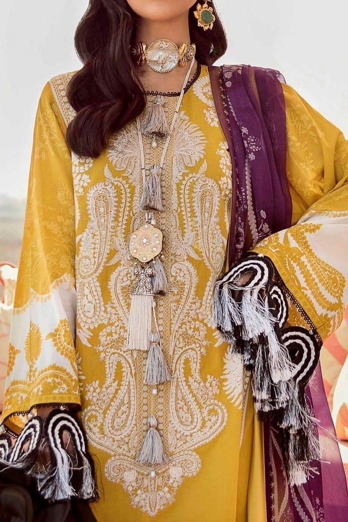 SANA SAFINAZ | MUZLIN SPRING'21 Collection | M211-006A-BI