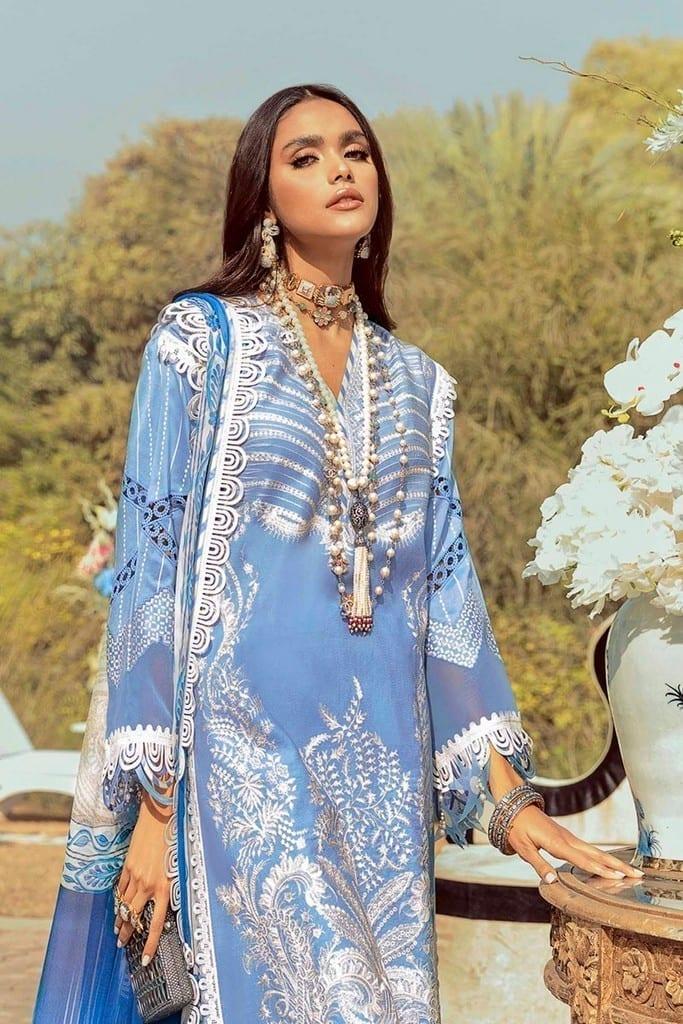 SANA SAFINAZ | MUZLIN SPRING'21 Collection | M211-008B-AJ