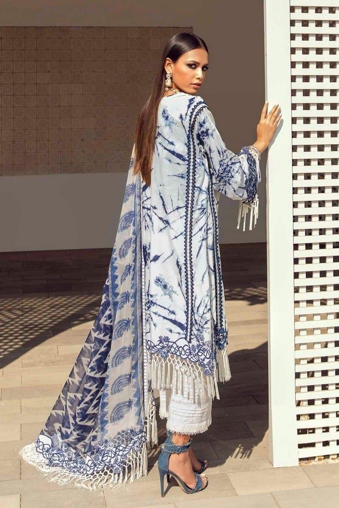 SANA SAFINAZ | MUZLIN SPRING'21 Collection | M211-010A-BI