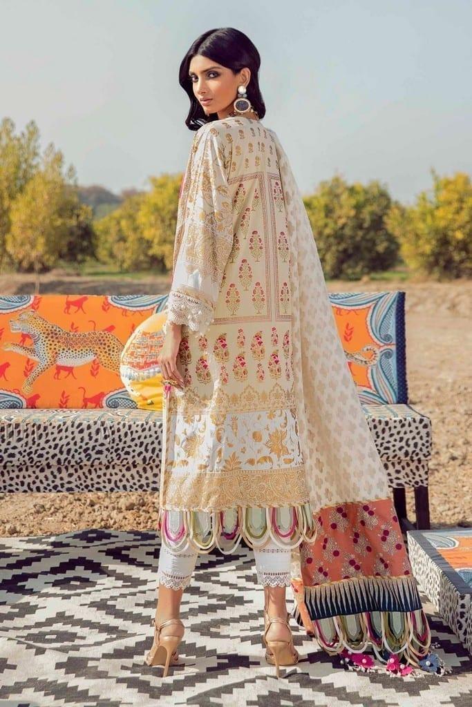 SANA SAFINAZ | MUZLIN SPRING'21 Collection | M211-023A-CM