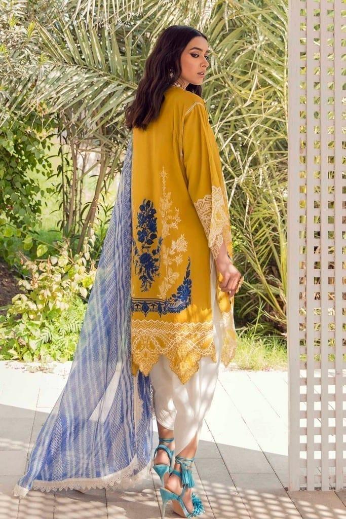 SANA SAFINAZ | MUZLIN SPRING'21 Collection | M211-009A-BI