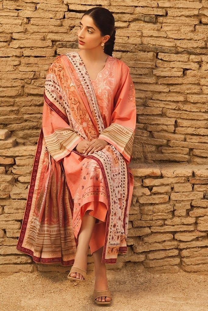 TENA DURRANI | Embroidered Lawn Suits | Quartz