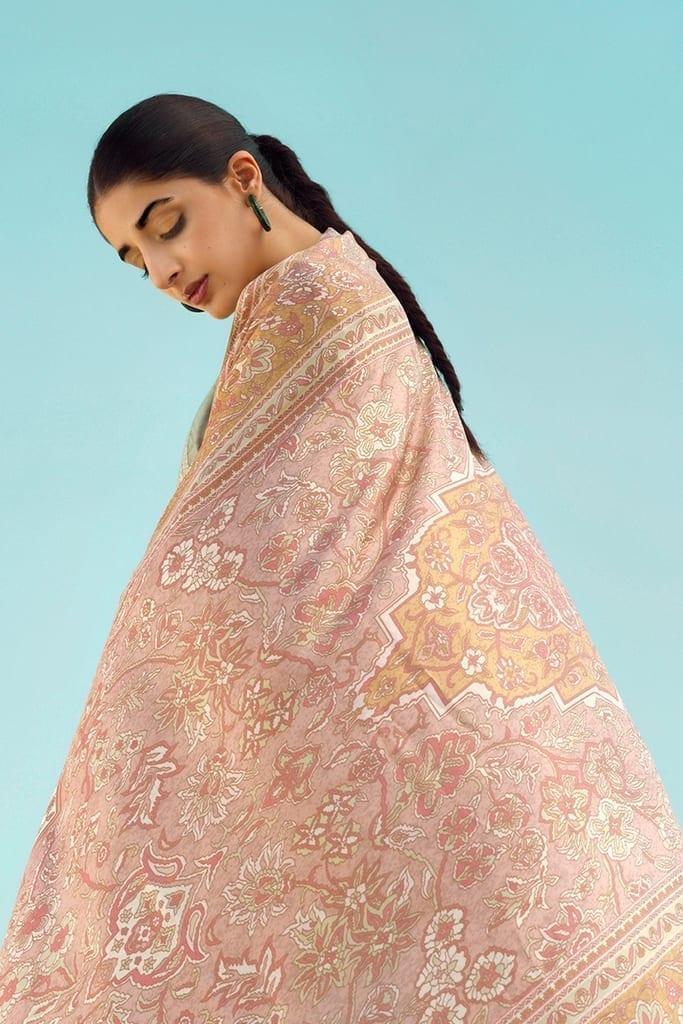 TENA DURRANI   Embroidered Lawn Suits   Rosette