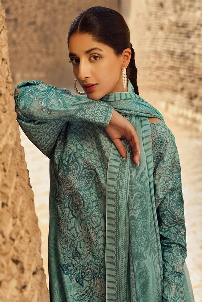 TENA DURRANI | Embroidered Lawn Suits | Skylight