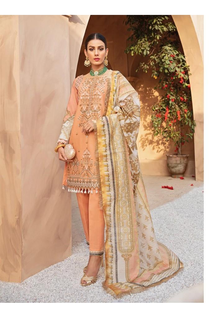 Gulaal | Luxury Premium Summer Collection 2021 | LL06 Amber