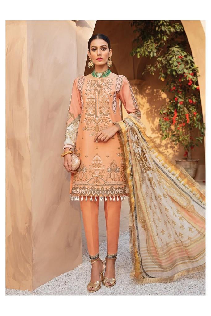 Gulaal   Luxury Premium Summer Collection 2021   LL06 Amber
