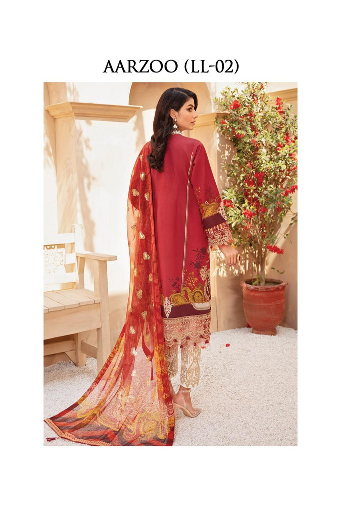 Gulaal | Luxury Premium Summer Collection 2021 | LL02 Aarzoo