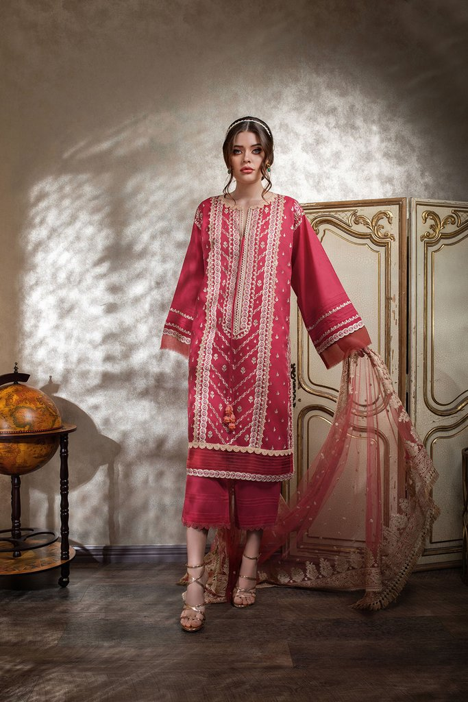 SOBIA NAZIR   LUXURY LAWN Collection   DESIGN 11A
