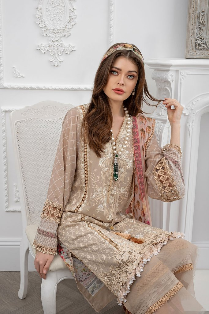SOBIA NAZIR | LUXURY LAWN Collection | DESIGN 7A