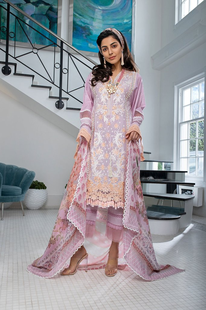 SOBIA NAZIR   LUXURY LAWN Collection   DESIGN 7B