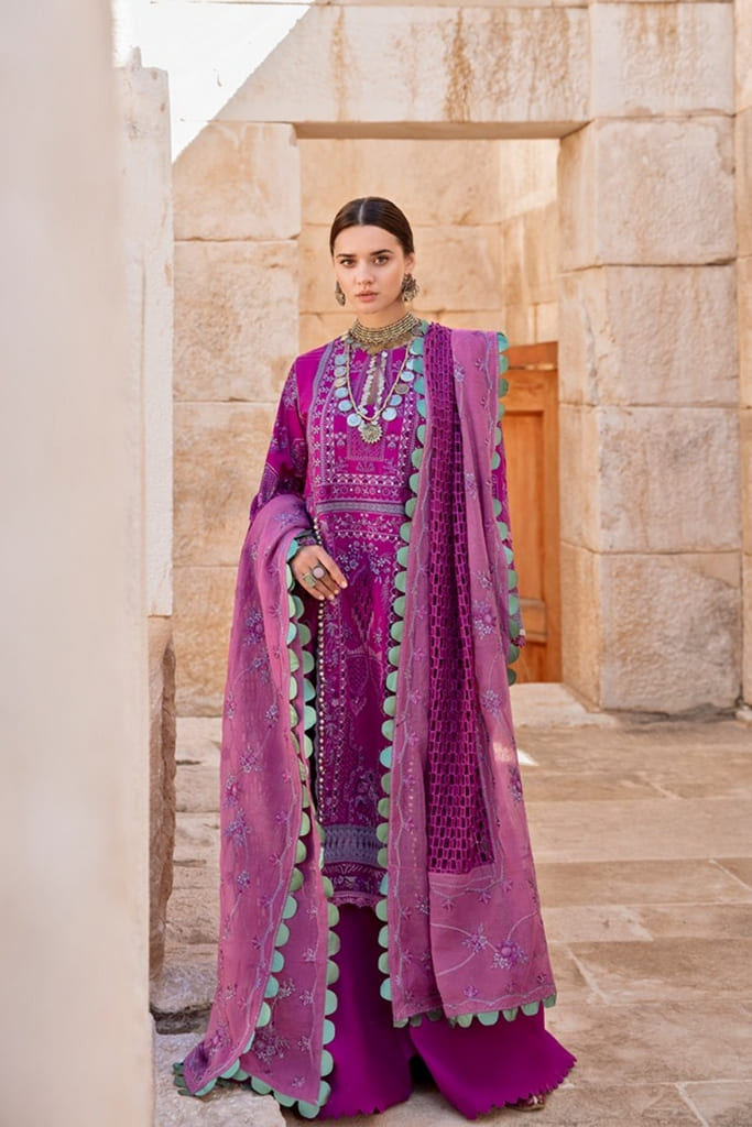 REPUBLIC WOMENWEAR | LUXURY LAWN Collection | SHAHWAR-A