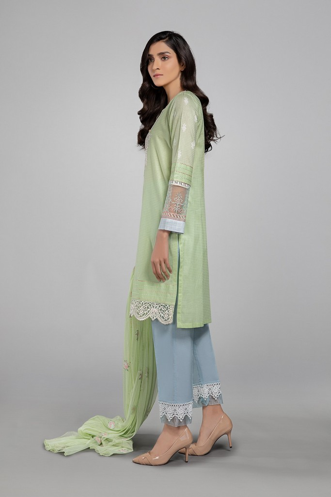 MARIA B | READY TO WEAR CASUAL | Suit Light Green DW-EA20-29