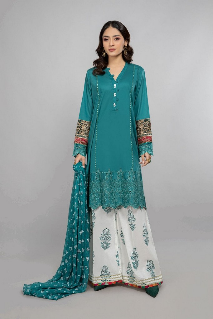 MARIA B | READY TO WEAR CASUAL | Suit Green DW-SS21-05