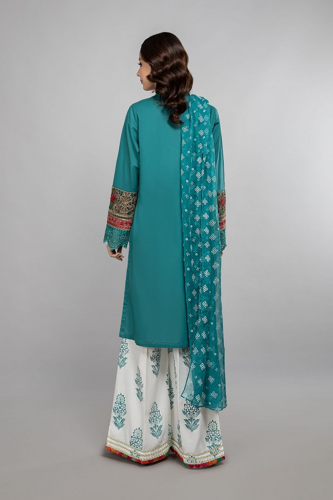 MARIA B   READY TO WEAR CASUAL   Suit Green DW-SS21-05