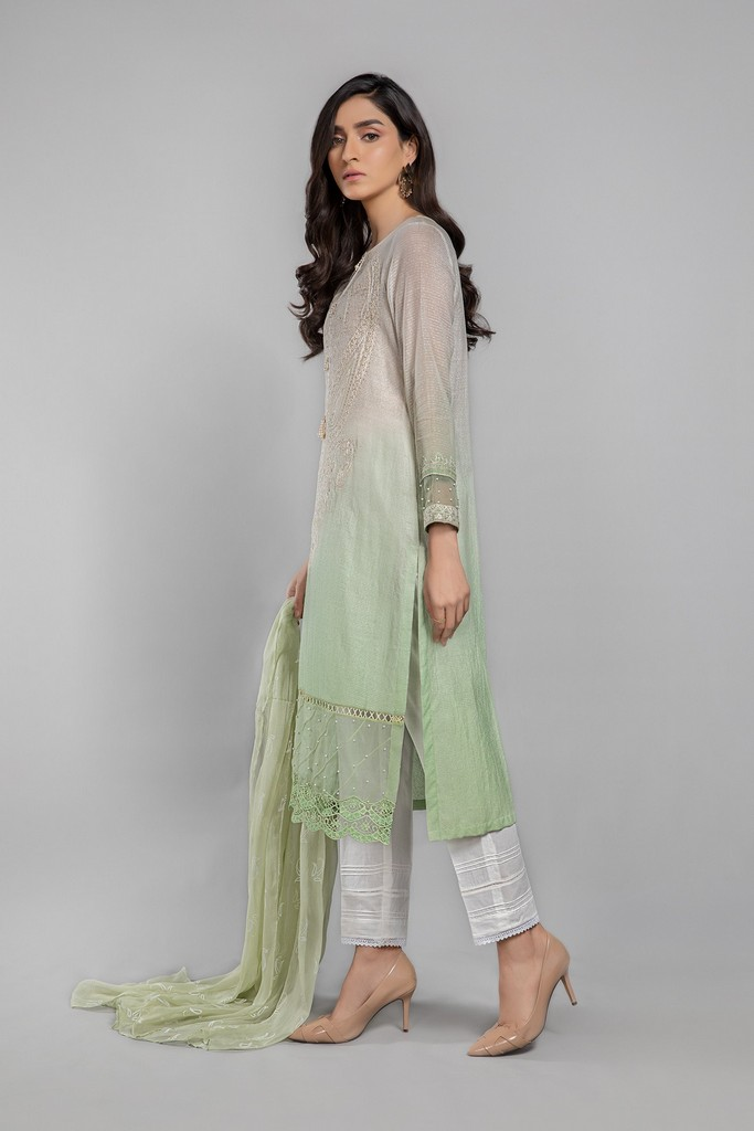 MARIA B   READY TO WEAR CASUAL   Suit Green DW-SS21-11