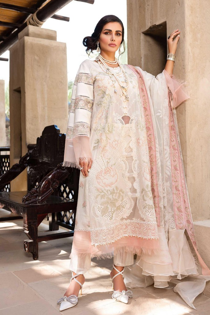 SHIZA HASSAN | LUXURY LAWN COLLECTION 2021 | 3-A HEER