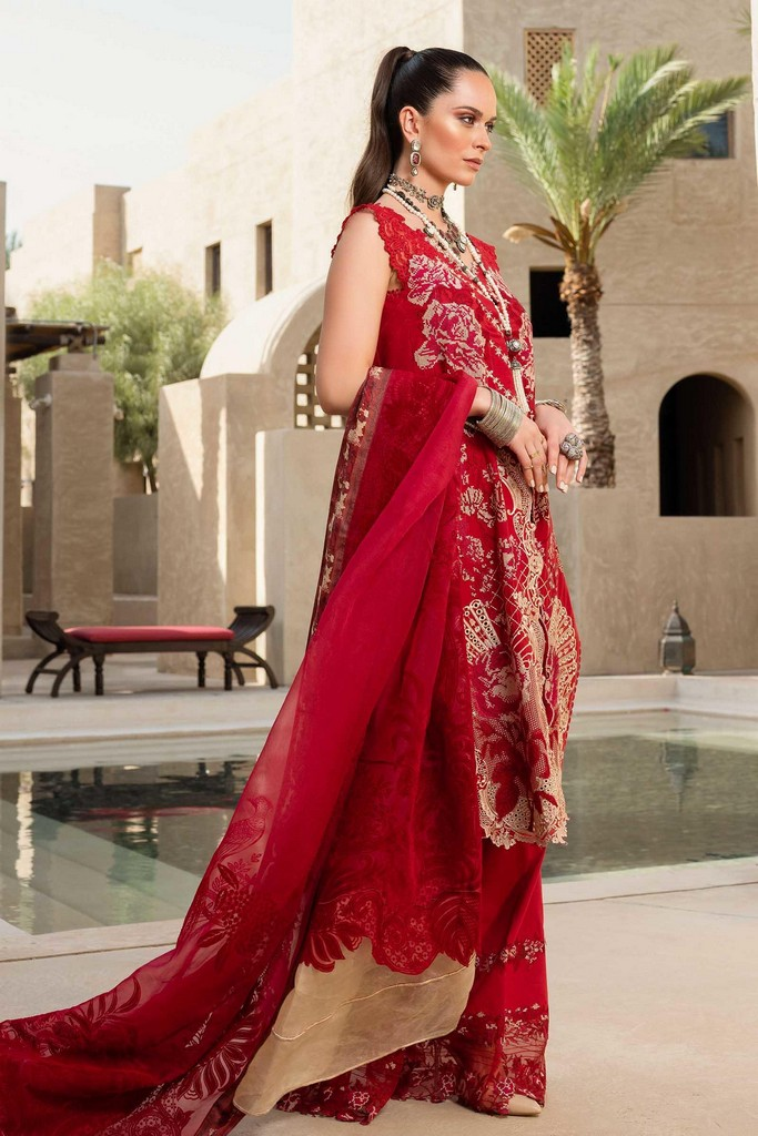 SHIZA HASSAN | LUXURY LAWN COLLECTION 2021 | 3-B HEER