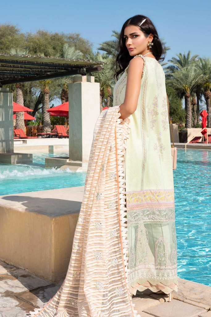 SHIZA HASSAN | LUXURY LAWN COLLECTION 2021 | 2-A JAHARA
