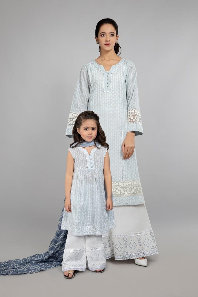 MARIA B | MOMMY N ME | READY TO WEAR | Suit Ferozi DW-SS21-17