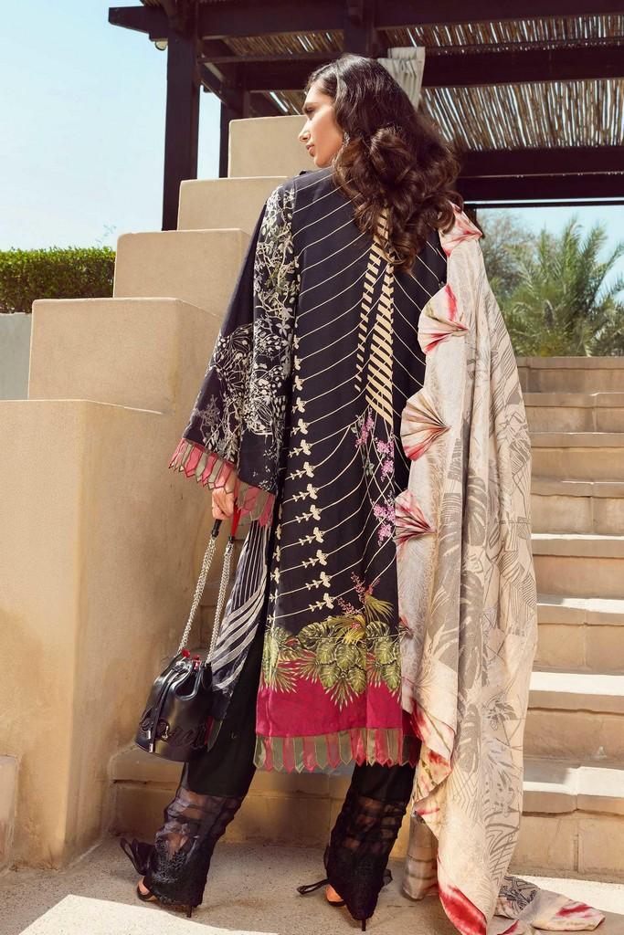 SHIZA HASSAN   LUXURY LAWN COLLECTION 2021   8-A MAAHRU
