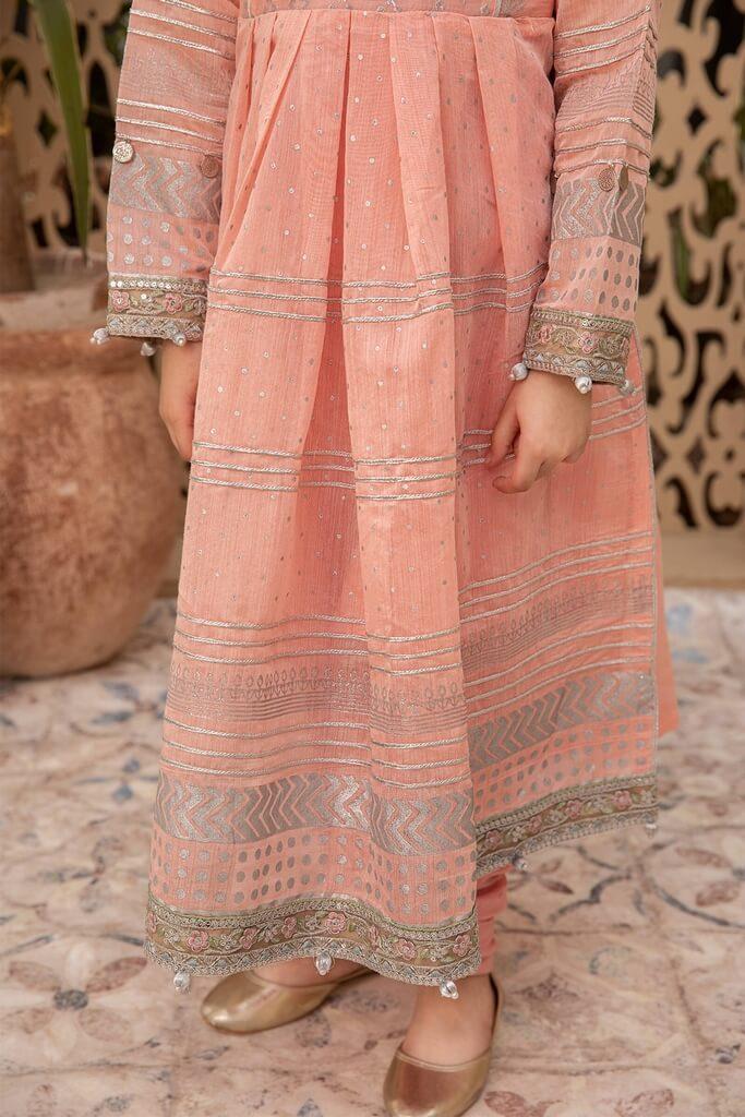 MARIA B   KIDS COLLECTION   Suit Pink MKD-EF21-12