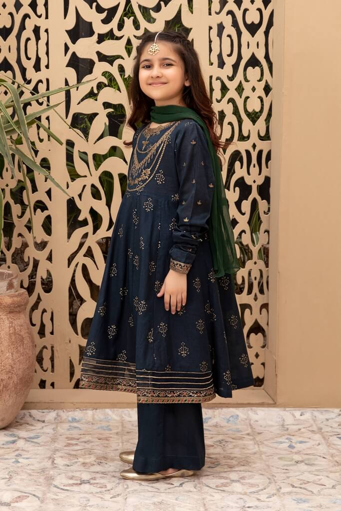 MARIA B   KIDS COLLECTION   Suit Blue MKD-EF21-23
