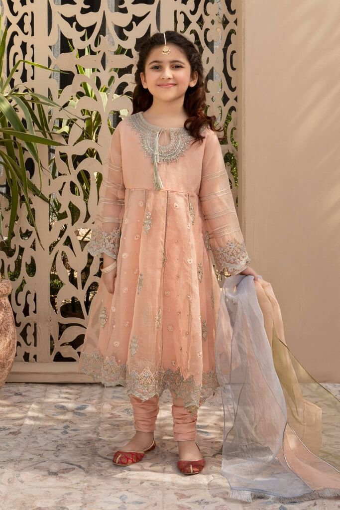 MARIA B | KIDS COLLECTION | Suit Peach MKS-EF21-02