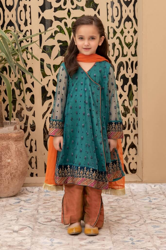 MARIA B | KIDS COLLECTION | Suit Blue MKS-W20-15