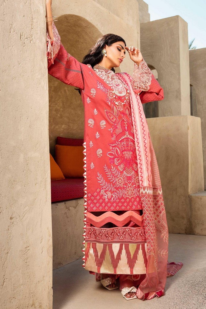 SHIZA HASSAN   LUXURY LAWN COLLECTION 2021   4-A NOOR