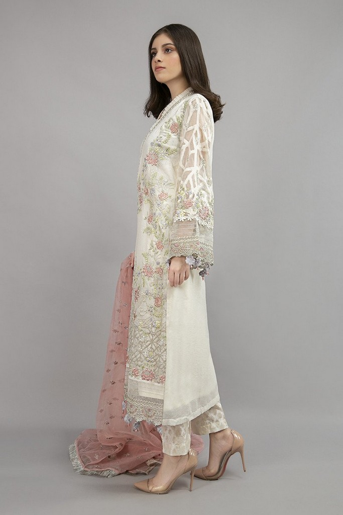MARIA B | READY TO WEAR CASUAL | Suit Off White SF-EA20-10