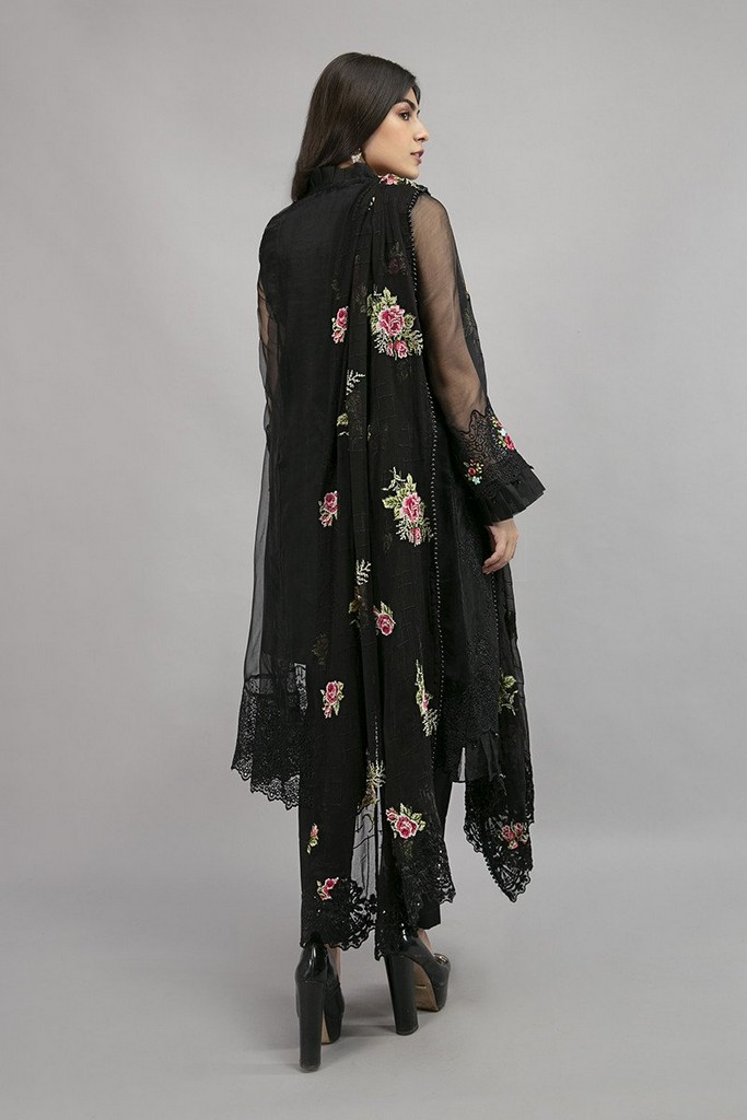 MARIA B   READY TO WEAR CASUAL   Suit Black SF-EA20-13