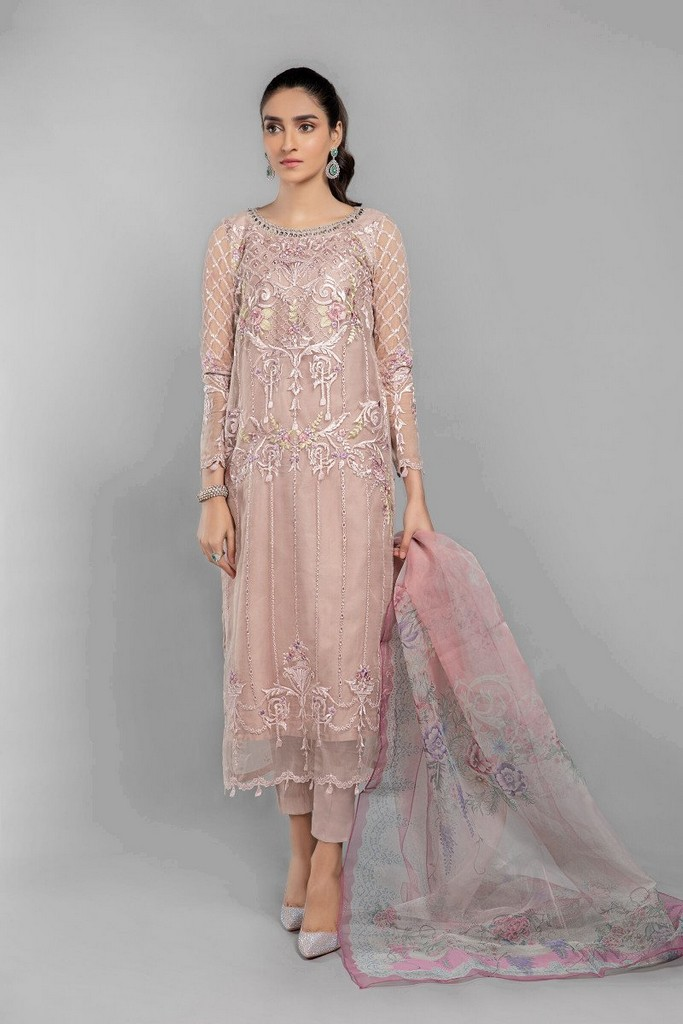 MARIA B | READY TO WEAR CASUAL | Suit Pink SF-SS21-04
