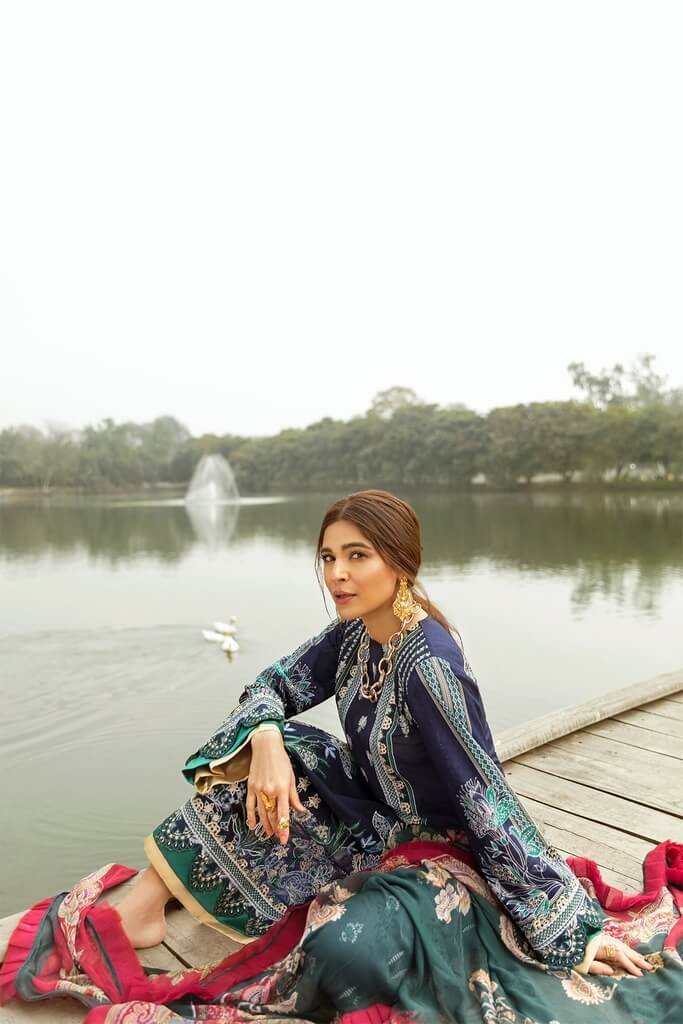 SAIRA RIWAN | LAWN'21 Collection | SR-12
