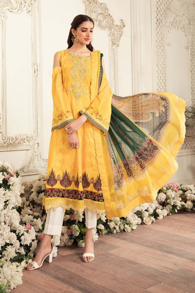 AARYRA   LUXURY LAWN'21 Collection   ARD-402-A