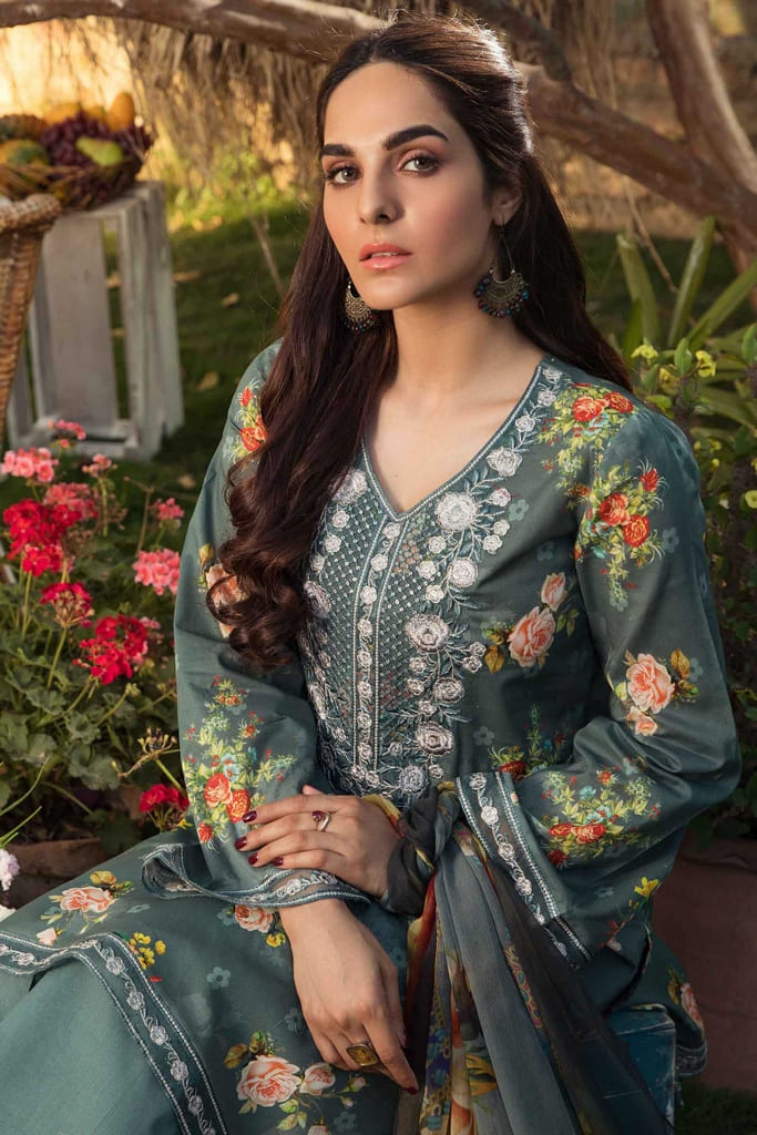 AARYRA | LUXURY LAWN'21 Collection | ARD-406-B
