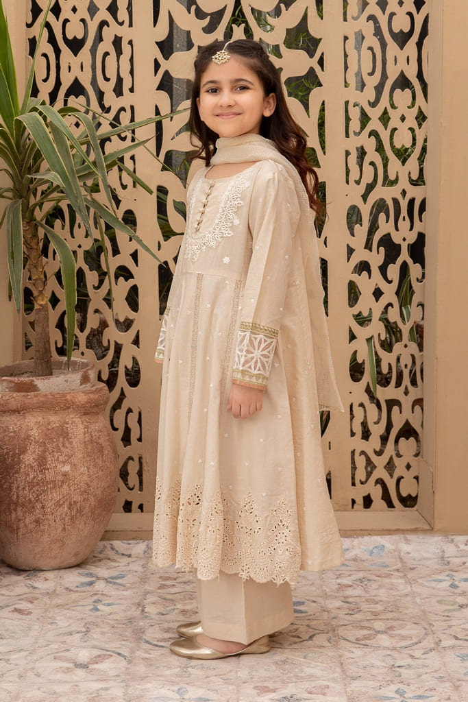 MARIA B | KIDS Collection | Suit Off White MKD-EF21-22
