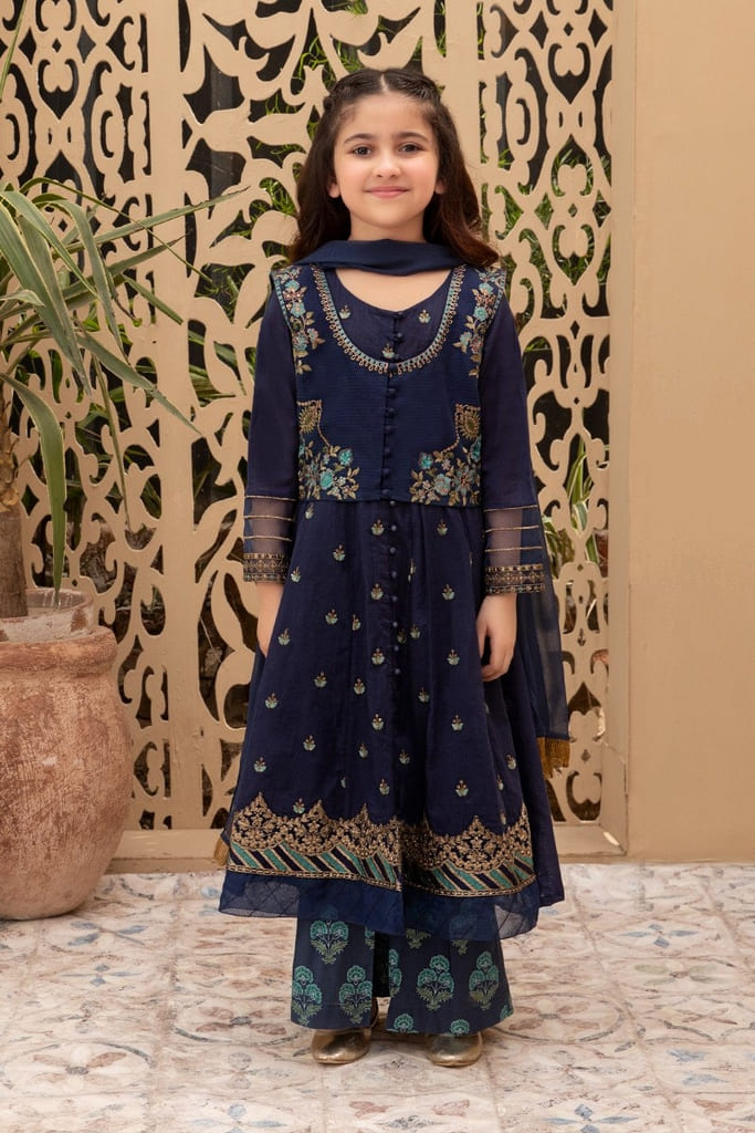 MARIA B | KIDS Collection | Suit Blue MKD-EF21-27